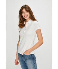 Dámske tričko zo 100% bavlny od Lacoste (biele) - Glami.sk 9089b68bc6e
