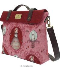 Santoro červená kabelka Mirabelle Satchel 6ae08c60f29