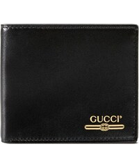 f336118392 Gucci Leather wallet with Gucci logo - Black