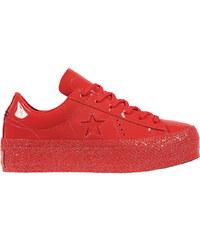 Converse Dámské tenisky One Star Platform Cherry Red Cherry Red Black 1bcda90551