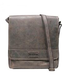aa09b15770 Scorteus Pánská kožená taška přes rameno Scorteus 1436 37 hnědá melír