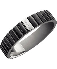 65af2543844 Calvin Klein Pánský kožený náramek KJ5SBB090100