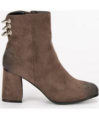 be91fd2e69a16 Hnedé kožené topánky Vinceza 1266/5BR - Glami.sk