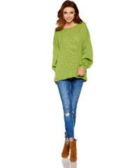 Lemoniade Dámský svetr LS216 zelená 8485a0f0a7