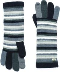 8f5fbaf3e8f Šedě pruhované dámské rukavice Art of Polo Greta