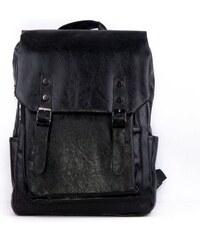 Lucy World Pánský koženkový batoh MAX black s900 95bca76eee