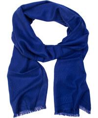 2c465eeaa79 Avantgard Zářivě modrá pánská šála