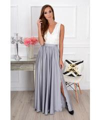 PLANETA-MODY Spoločenské šaty s krajkou Athena CO-32334 02b540e0922