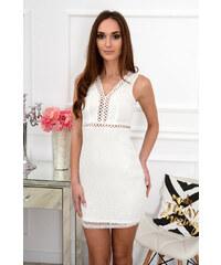 80ac856c1ea0 PLANETA-MODY Elegantné krajkované šaty Santana CO-37406