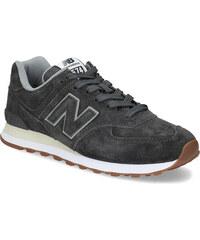 New Balance Pánské šedé tenisky z broušené kůže 85199acaff
