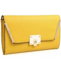ikabelky Žltá listová kabelka BE-BW3207 2a56f2e596b