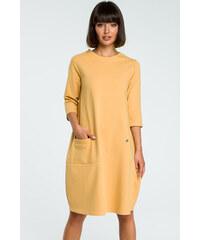 Žluté dámské oblečení  c153edde94