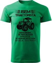 Lemurák s.r.o. Pánská trička Jsem traktorista c9c1e04521