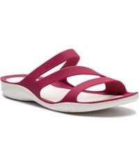 Nazouváky CROCS - Swiftwater Sandal W 203998 Pomegranate White f6964e6240