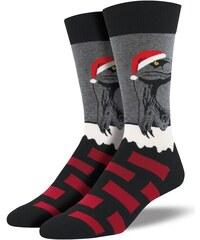 SOCKSMITH vánoční ponožky RAPTOR CLAUS PÁNSKÉ 02d05d2952