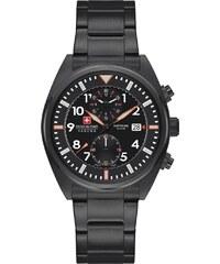 Kolekcia Swiss Military Hanowa Čierne Pánske hodinky z obchodu ... 26e2b640290