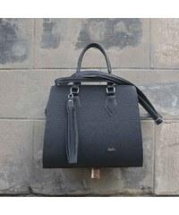 Elegantní černá kabelka značky Seka 53920f54f9f