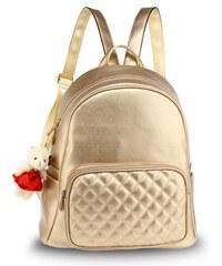 45715db978f Dámský zlatý batoh Edie 674