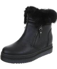 Dámske vysoké zimné topánky 5e77e090502