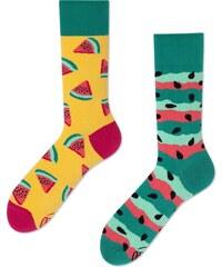 Ponožky MANY MORNINGS regular WATERMELON SPLASH 22d19ab110