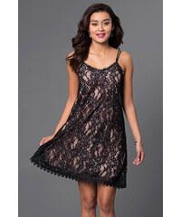 Glamor Čipkované šaty do spoločnosti 4607b2f7a74