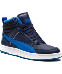 4b87fa1b6fb Sneakersy PUMA - Rebound Street V2 Fur Jr 363919 05 Peacoat Strong  Blue White