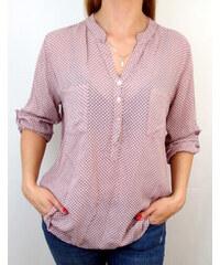 Puntíkaté dámské halenky a košile s dlouhým rukávem  2b77ec77c1