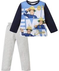 Lamaloli Sam a tűzoltó kék-szürke pizsama b5c0e4461d