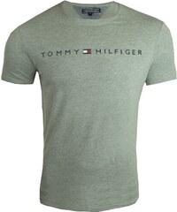 41f6828c0e Tommy Hilfiger Pánské šedé triko Tommy Hilfiger 9714