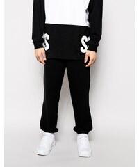 SONS - Pantalon de jogging à logos en grosses lettres exclusivité ASOS - Noir