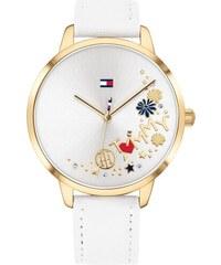 Dámské hodinky Tommy Hilfiger white leather strap 83964fc154
