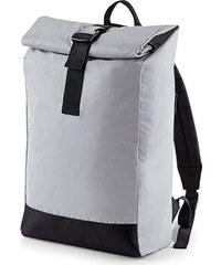 28270b92400 BagBase Lehký rolovací batoh do města s reflexní úpravou 15 l