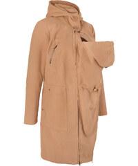 6498511660f0 Bonprix Materský kabát s rozšírením na bábätko (vpredu i vzadu)