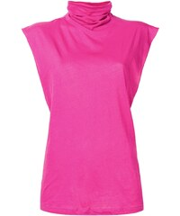 Unravel Project turtle neck tank top - Pink 9eff6bc58b