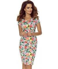 LAFIRA Dámské květinové šaty B107-05 c37feea350