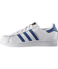 Detské tenisky adidas Originals SUPERSTAR FOUNDATION J (Biela   Tmavo modrá) b169c6e47d9