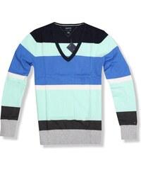 1b3a7556c13 Tommy Hilfiger dámský svetr s pruhy