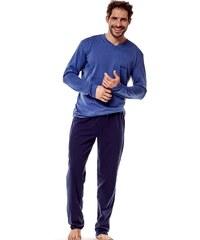 Esotiq   Henderson Férfi pizsama 36215 Golf 59x blue c6e7d9e963