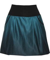 Radka Kudrnová Petrolejovo černá balonová sukně 2b7c0bfe05