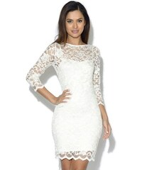 049aa918430b Elegantné biele čipkované šaty Asos G0096