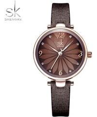 521050bd543 SK Shengke hodinky Mujer K8047 L04 BROWN