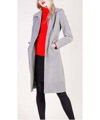 Sivé Dámske bundy a kabáty  a73dfac3e0e