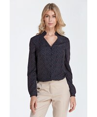 Colett Dámská košile Colett Semplic černá s puntíky - černá 0d9565c575