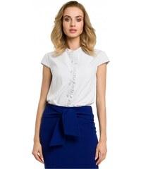 MOE košile dámská 067 dvojitý límeček - Glami.cz 96144c39b4
