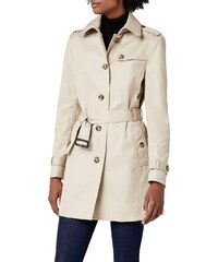 Tommy Hilfiger Heritage - Trench - Col roulé - Manches longues - Femme -  Beige ( ae70bff53db