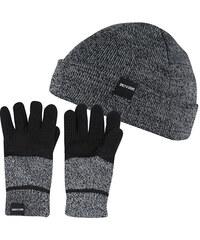 9a7ef0240 ONLY&SONS Pánsky set zimné čiapky a rukavice X-Box Gloves & Beanie Black