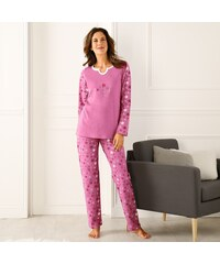 4521de10b4f1 Blancheporte Pyžamo s originálnym výstrihom ružová