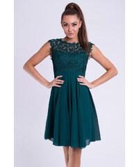96a6525384ed Adria Dámské společenské šaty Maëlys s krajkou