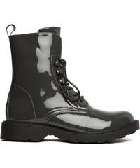 e722a449c2 Dámské šedé kotníkové boty Litzy 104