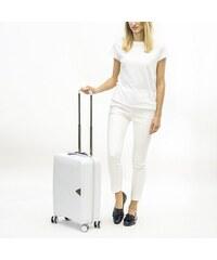 5e5e5f3e7b Puccini malý kufrík na palubu lietadla 35 litrový TSA zámok biely PP014C 8